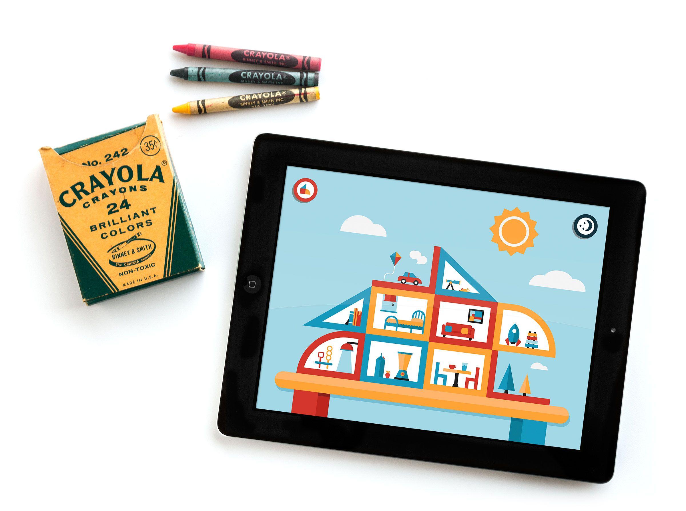 Playhaus Ipad App Interactive Illustration Kids Children