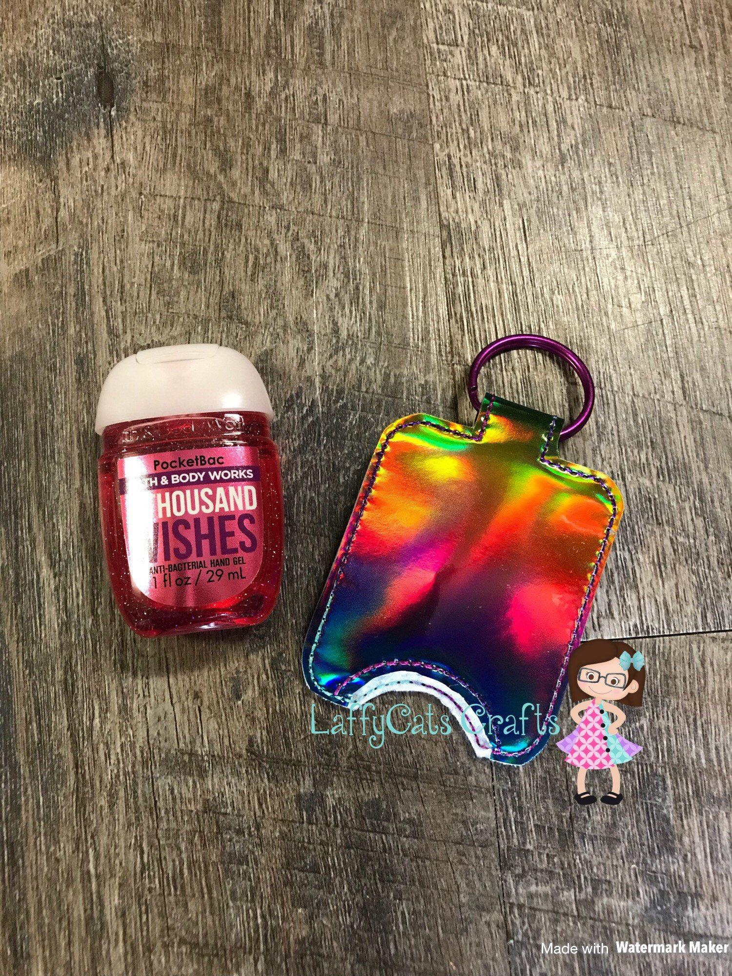 Handmade Rainbow Hand Sanitizer Holder Hand Sanitizer Case Hand