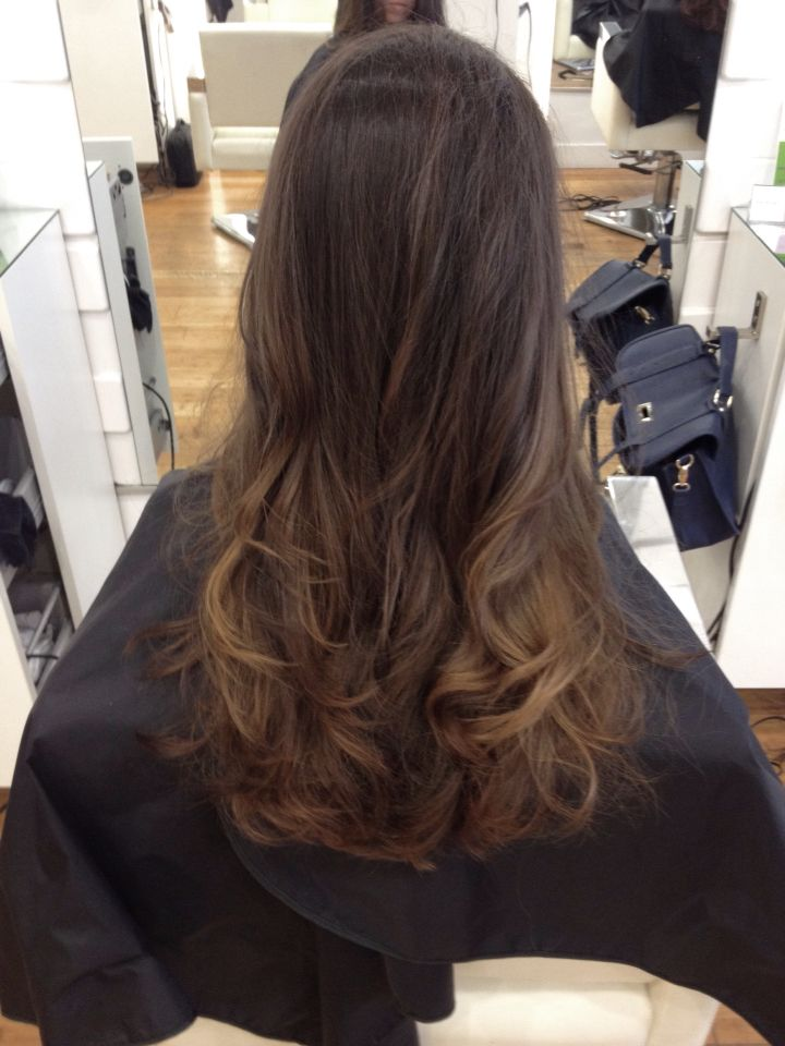 Brazilian Hair Balayage Caramel Highlights Hair By Karen