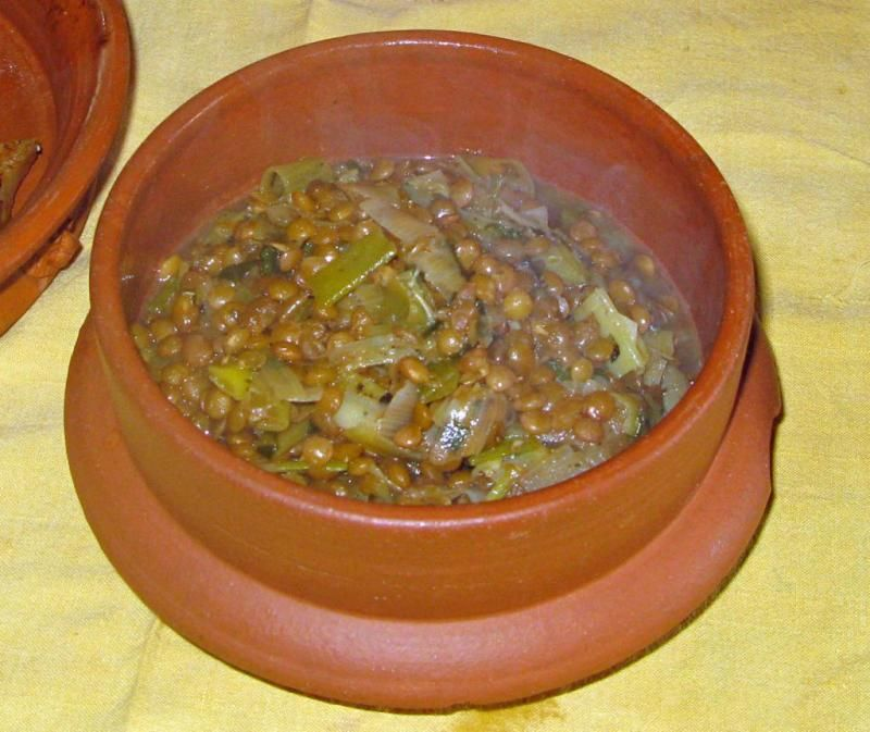 Roman lentil casserole pottage recipe cookit historical roman lentil casserole pottage recipe cookit forumfinder Gallery
