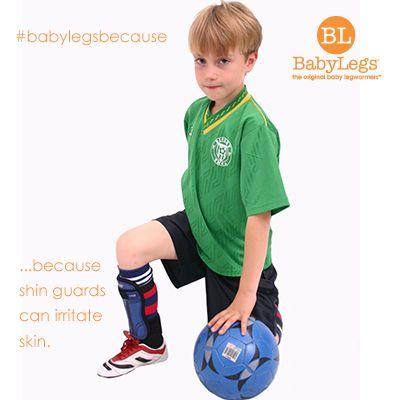 BabyLegs Because...shin guards can irritate skin.  babylegs   babylegsbecause  soccer  sports  kids  moms e420716f8