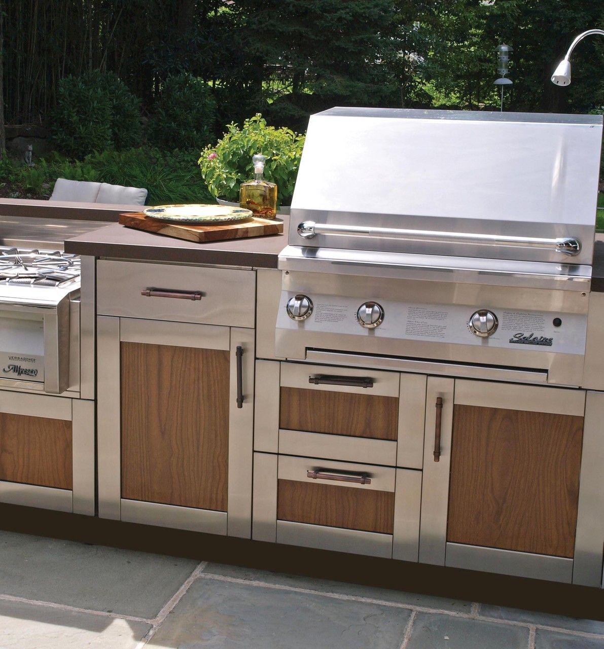 Brown Jordan Outdoor Kitchen Collection | Outdoor Kitchens ...