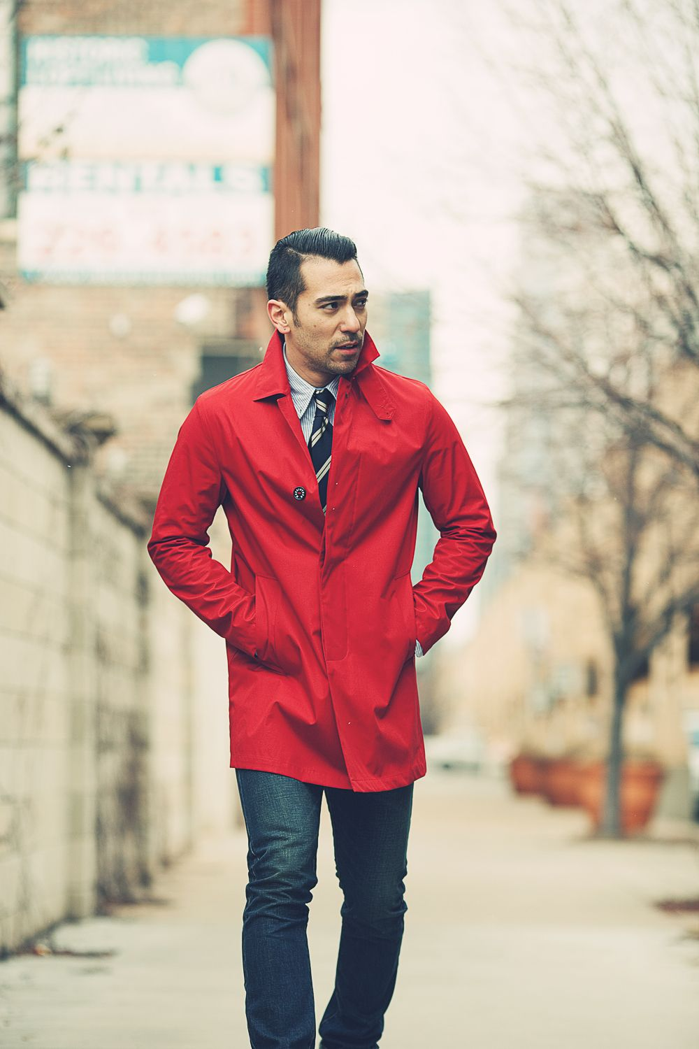 Red Coat Man