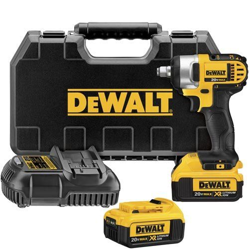 Dewalt Dcf880hm2 20volt Max Lithium Ion 12inch Impact Wrench Kit With Hog Ring For More Information Visit Image Link Impact Wrench Impact Driver Dewalt