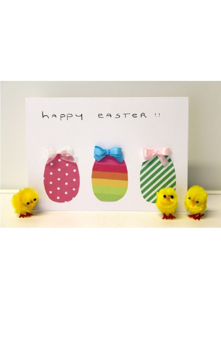 Diy Happy Easter Card Easter Activity Ideas For Seniors Easter