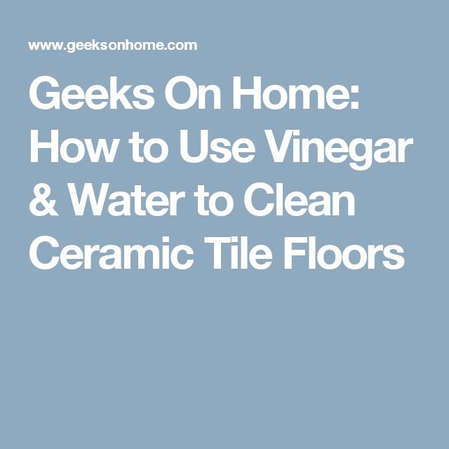 Vinegar And Water For Vinyl Floors