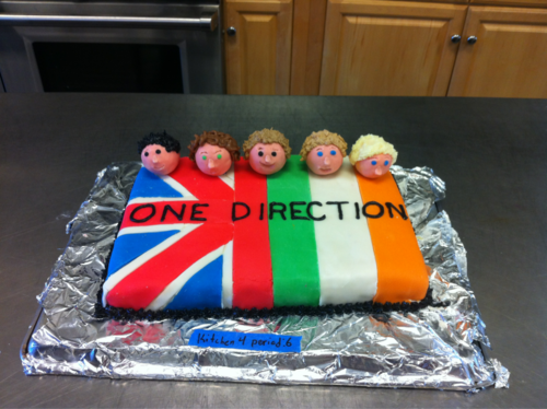 Pleasing Pin On One Direction Birthday Cakes Funny Birthday Cards Online Overcheapnameinfo