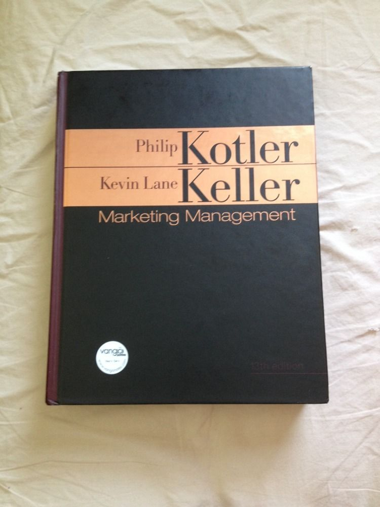 Marketing Management Kotler Philip Keller Kevin Lane Keller