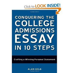 conquering the college admissions essay in 10 steps pdf