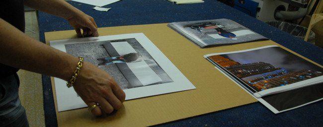 Enmarcando fotos