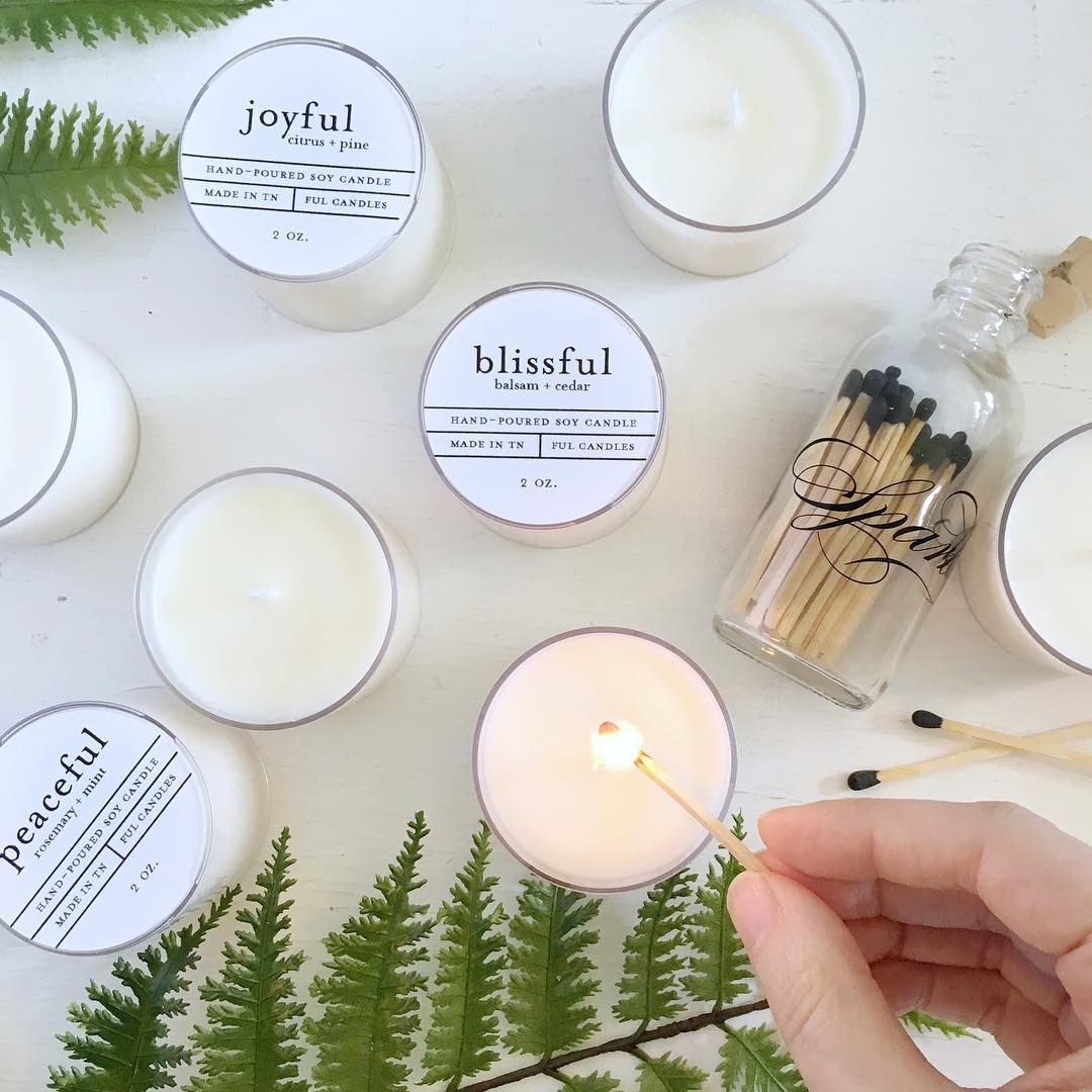 Peaceful vibes. ✌🏻🌿 . . . ful candles, soy candles, bridesmaids ...