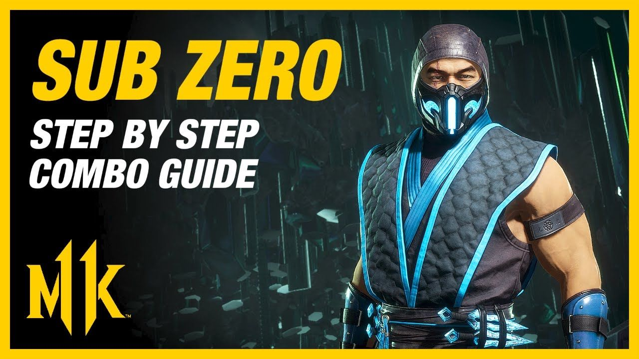 Mortal Kombat 11 Sub Zero Combo Guide Step By Step Tips