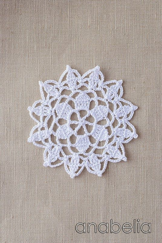 Ganchillo con motivos de encaje nr 6 por Anabelia | ~* Crochet ...