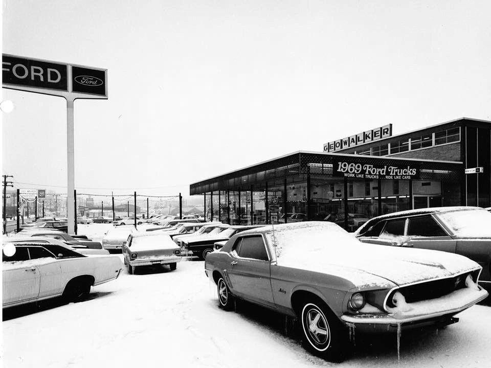 1969 Geo Walker Ford Dealership, Des Moines, Iowa