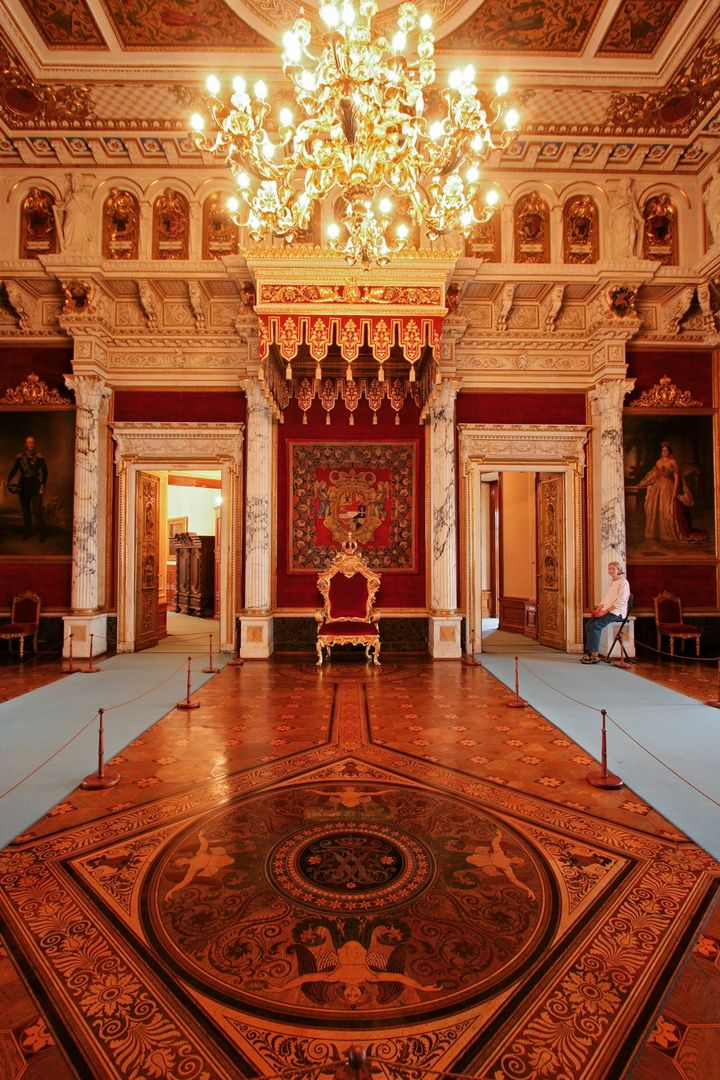 Throne Room of Schwerin Castle, Germany | Architecture ...