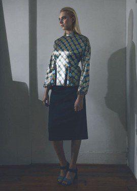 Godet blouse