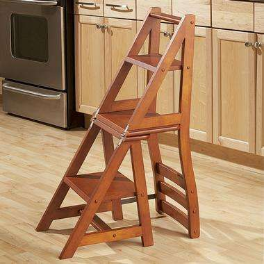 Multifunctional Surfaces Kitchen Step Stool Folding