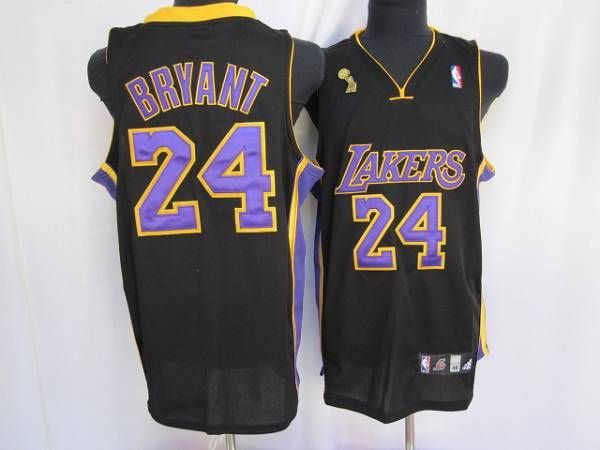 Lakers  24 Kobe Bryant Embroidered Black Purple number Champion Patch NBA  Jersey! Only  20.50USD fa38b5e2b