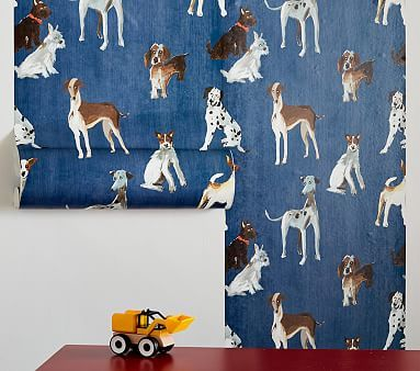 Preppy Dogs Peel Stick Wallpaper Preppy Dog Peel And Stick Wallpaper Wallpaper