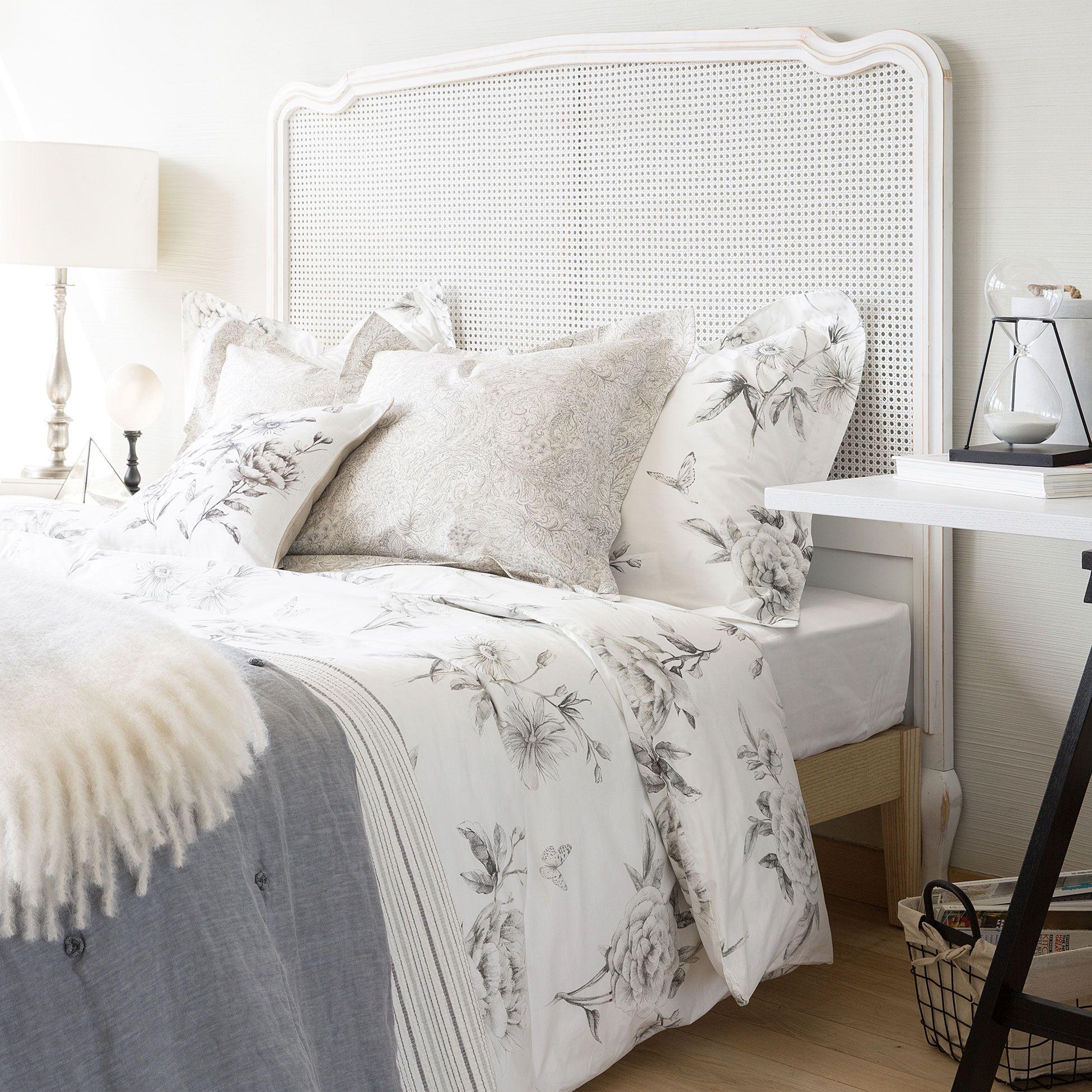 Zara home interior design - Floral Print Percale Bedlinen Bed Linen Bedroom New Collection Zara Home Belgium