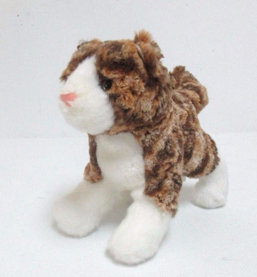 Douglas Brown Tabby Cat Plush Stuffed Animal Cuddle Toy Kitty