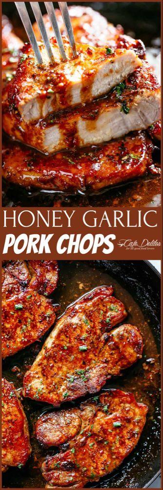 Photo of Easy Honey Garlic Pork Chops