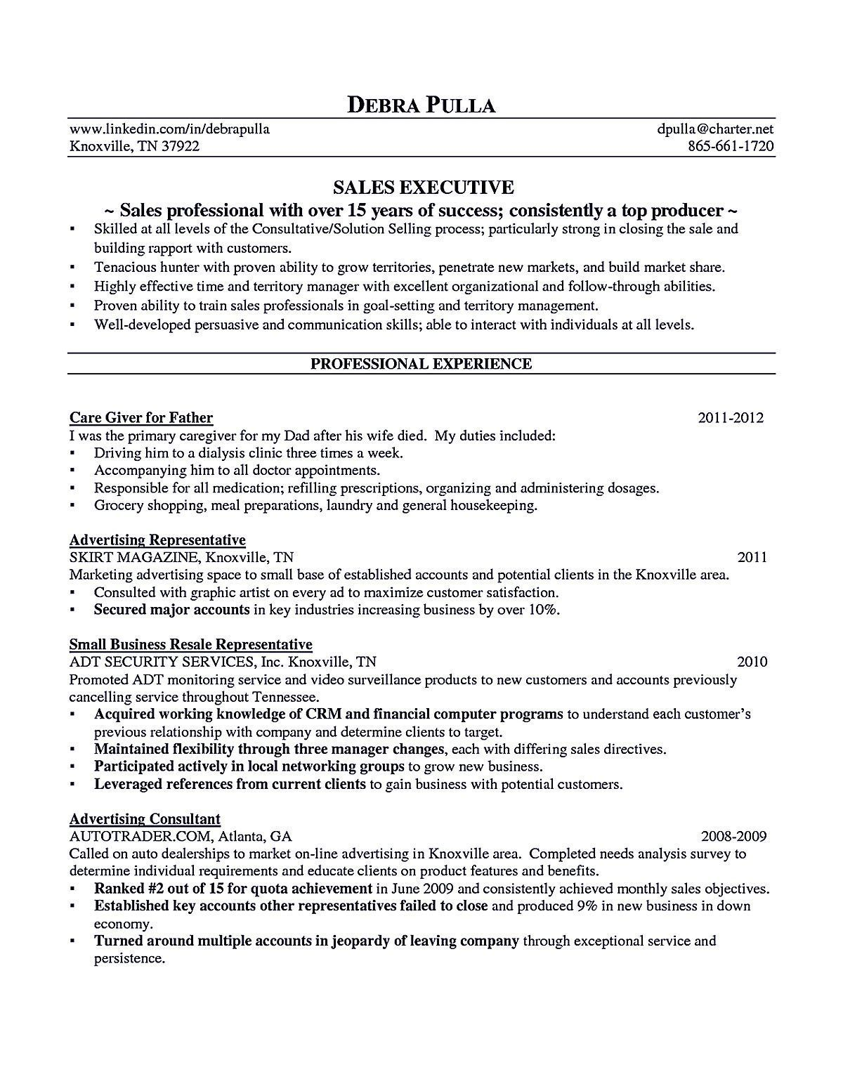 Advertising Account Executive Resume Unique Account Executive Resume Is Like Your Weapon To Get The Job You Want .