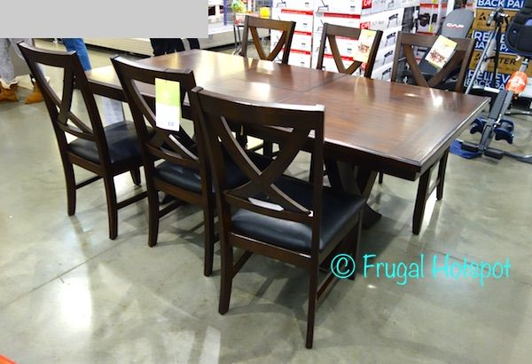 Bayside Furnishings 7-Piece Dining Set. #Costco #FrugalHotspot ...