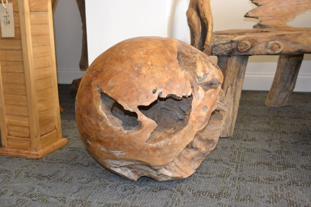 Teak Root Ball Handmade 100 Natural Root Decoration