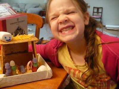 Edible Nativity Craft!