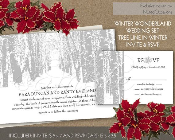 Rustic Winter Wedding Invitations Snow Wedding Invitation Etsy Snow Wedding Invitations Rustic Winter Wedding Invitation Winter Wedding Invitations