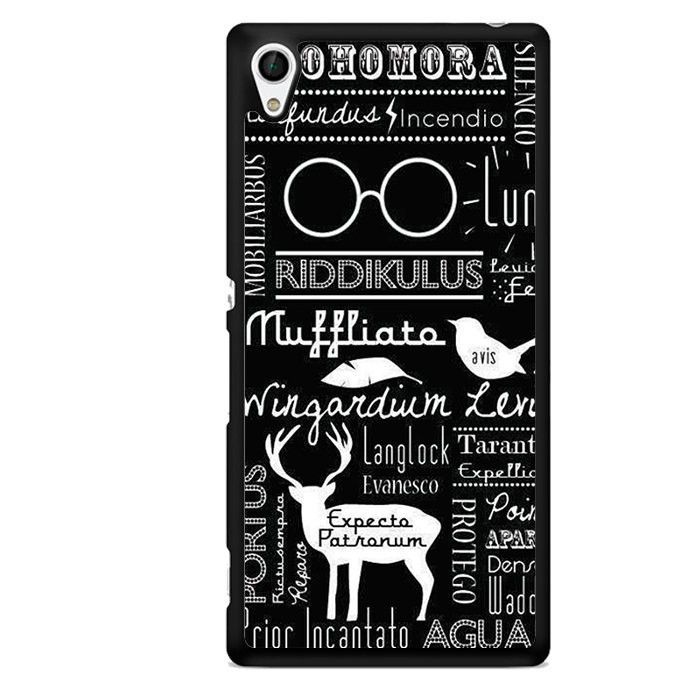 Harry Potter Quotes Tatum 5137 Sony Phonecase Cover For Xperia Z1 Xperia Z2 Xperia Z3 Xpe Harry Potter Spells Harry Potter Wallpaper Harry Potter Spell Book