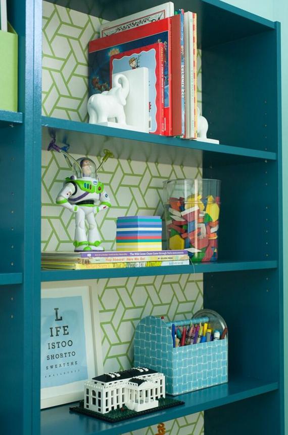 Ikea Bookcase Kids Playroom Via Simplifiedbee Guest Room Design Ikea Billy Bookcase Hack Room Design