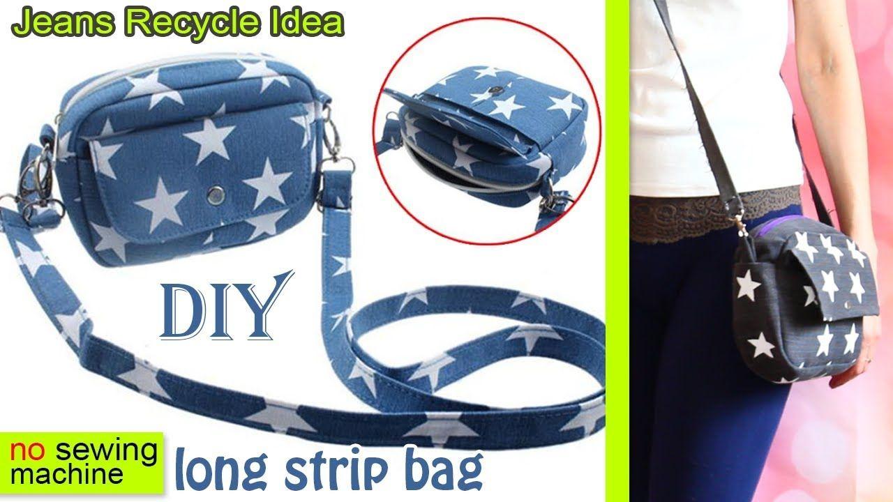 DIY BEST SUMMER BAG FROM OLD JEANS MAKING STAR PRINT EASY TRAVEL SUMMER BAG  - YouTube 3d92870278349