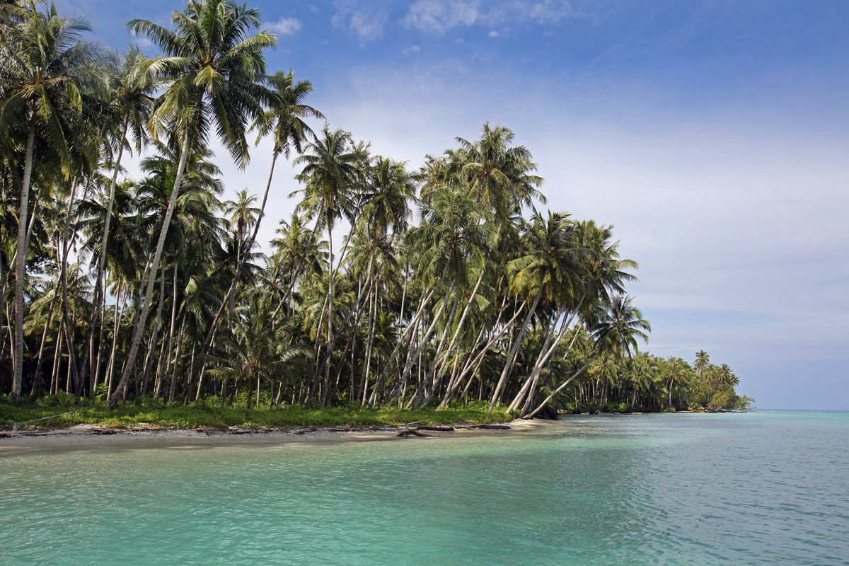 Pulau Saranbaung In The Northeast Corner Of Nias This Is A Real Tropical Paradise Island That Very Few People Get To See Due To Its R Pulau Indonesia