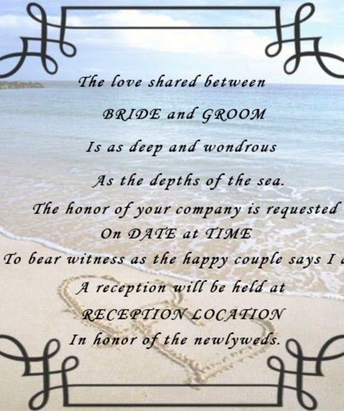 2014 Beach Wedding Quotes Beautiful Seashore Quotes For Beach W