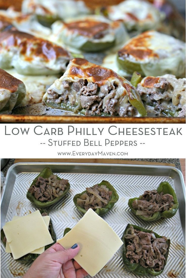 Everything you love about philly cheesesteaks in a low