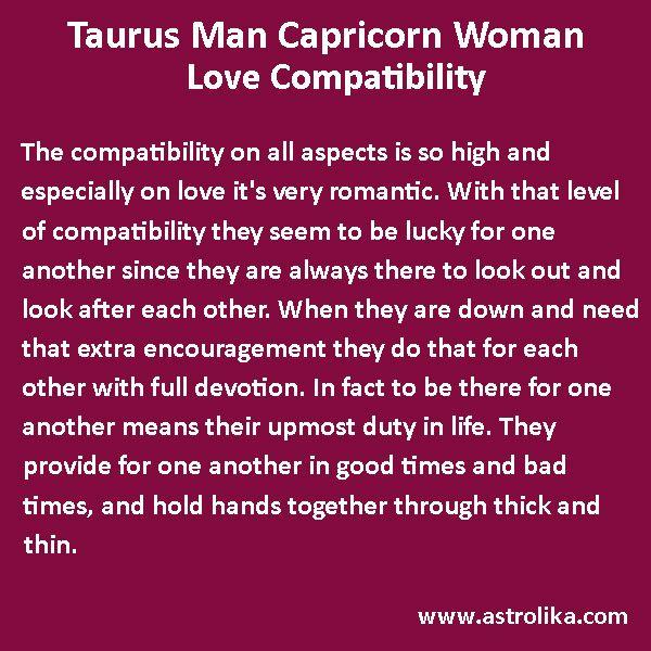 Taurus Man and Capricorn Woman Love Compatibility | Aries