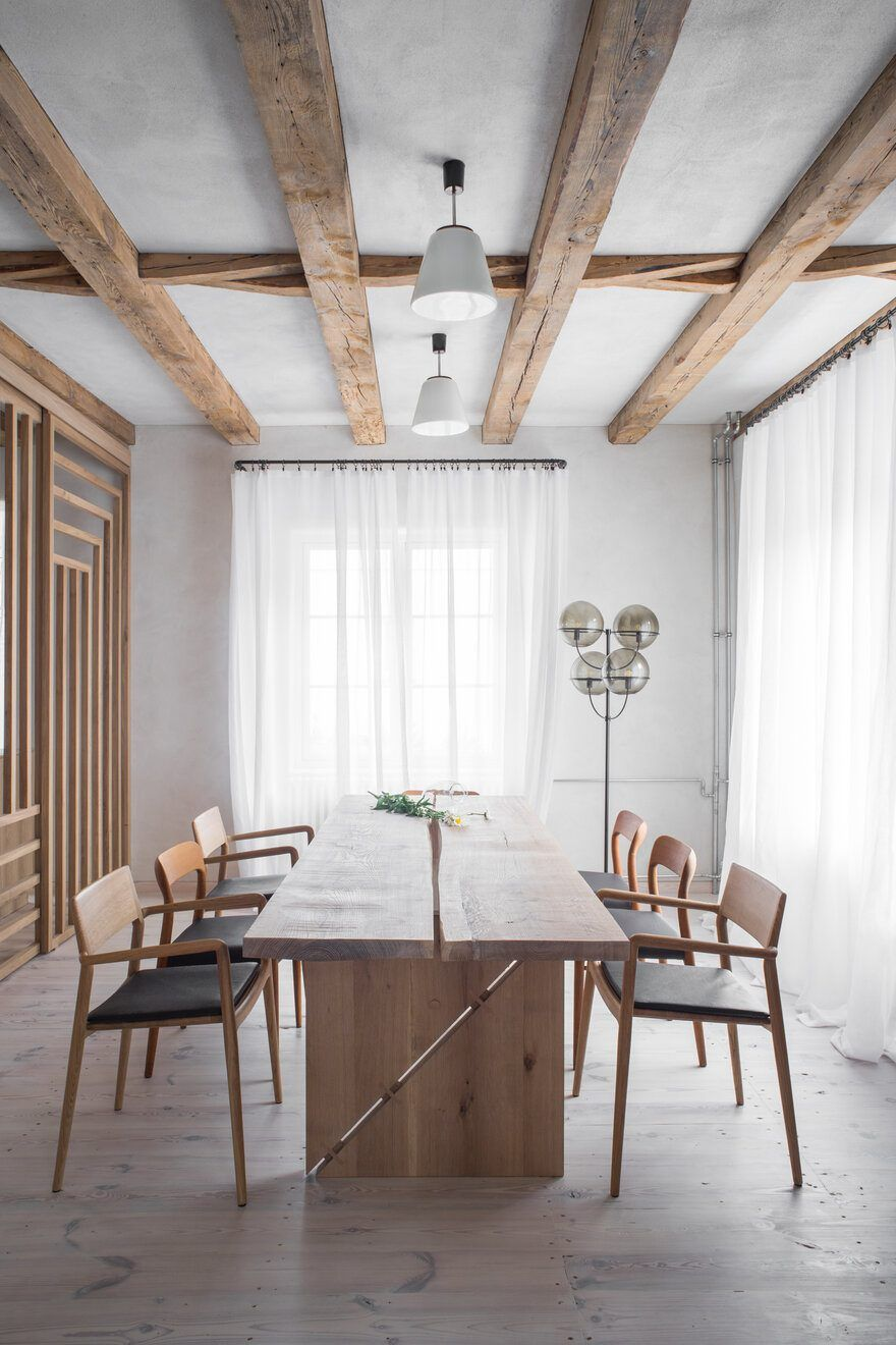 Renovation And Reconstruction Of The Interior Of A House From 1923 1920s House Home Renovation Dining Room Small