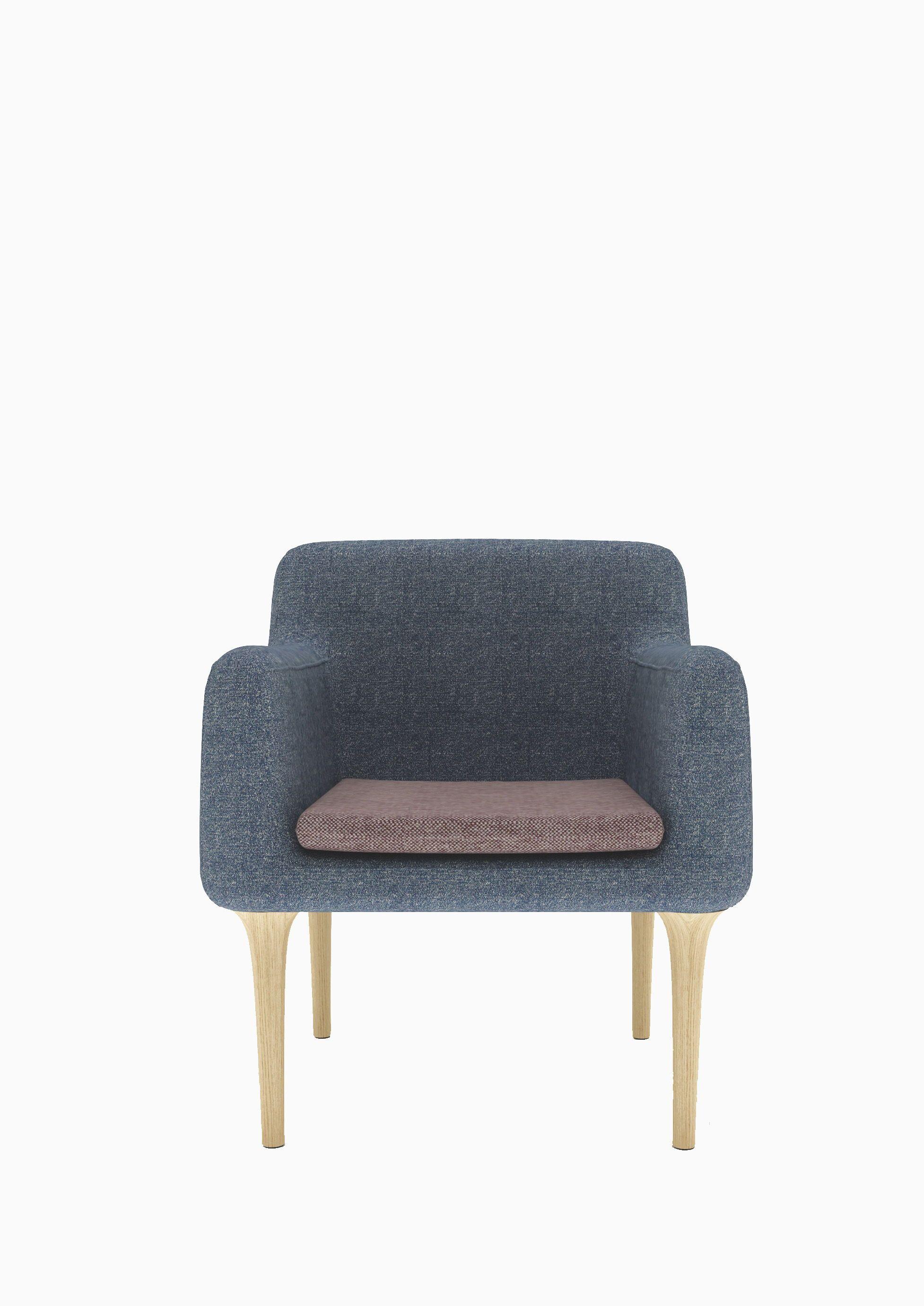 Pleasing Modern Style Sofa Chair Blue W685 D630 H775 Oak Foot Ibusinesslaw Wood Chair Design Ideas Ibusinesslaworg
