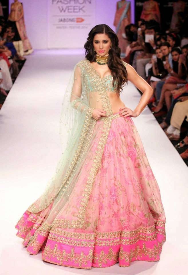 Pastel color is a must have these days for a bride... Best for ...