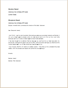 Reprimand letter download at httptemplateinn40 official reprimand letter download at httptemplateinn40 official letter templates for everyone altavistaventures Image collections