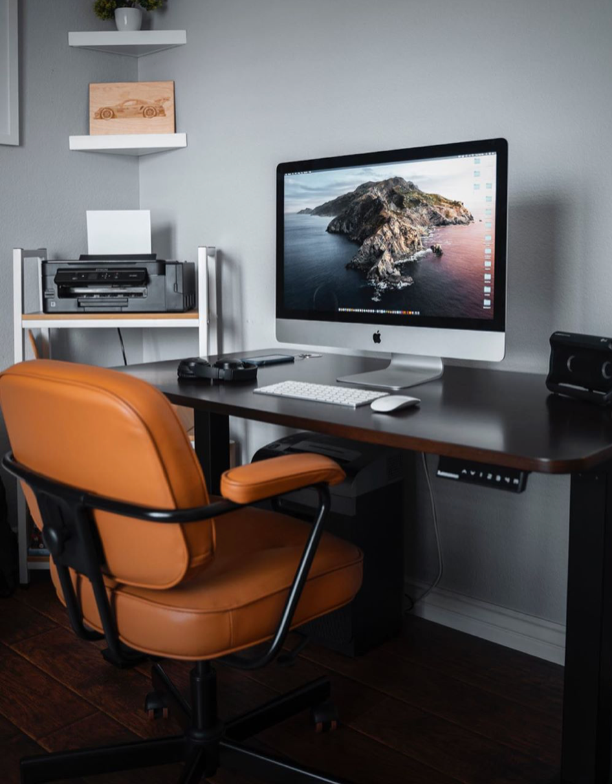 Standing Desks The Smart Height Adjustable Desks From Autonomous In 2020 Best Office Chair Home Office Setup Dream Desk