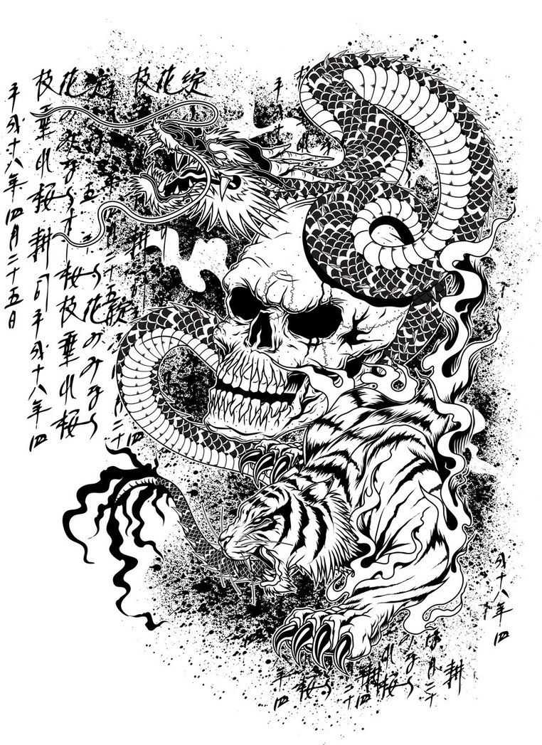 Pin von Steven Ho auf Tattoo Designs | Pinterest
