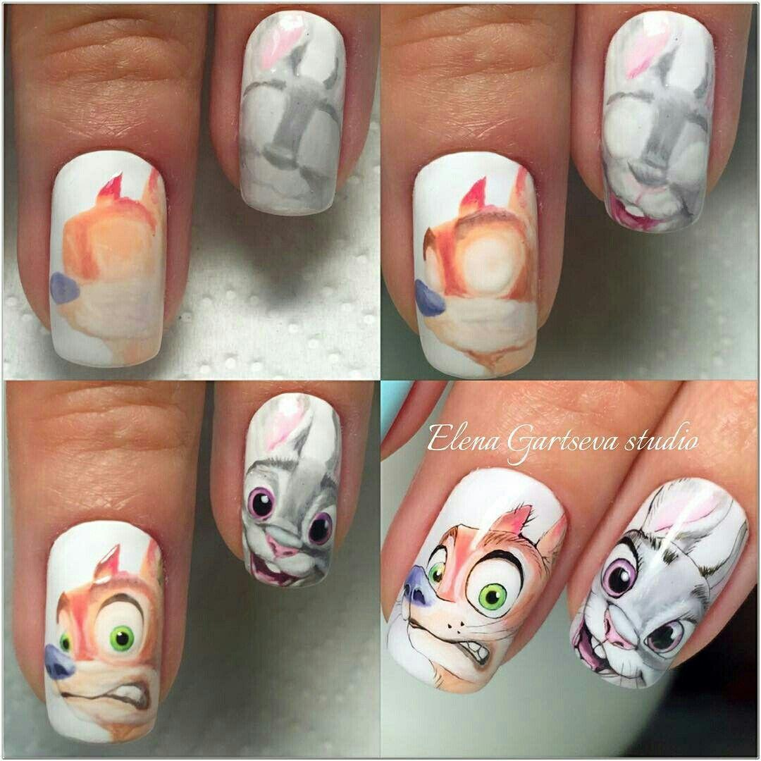 Pin von Claudia Guisao auf Disney nailart | Pinterest | Nageldesign ...