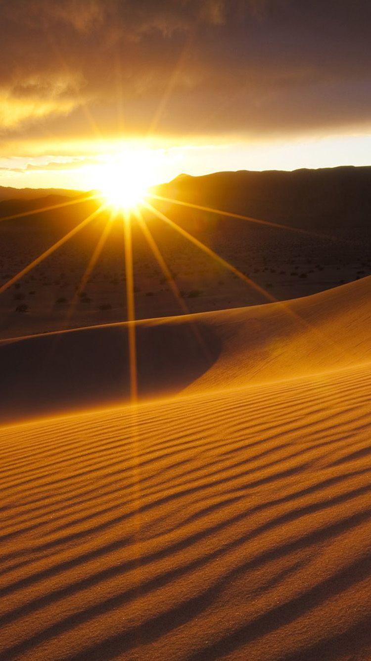 Related Image Sunset Wallpaper Desert Sunset Nature Background