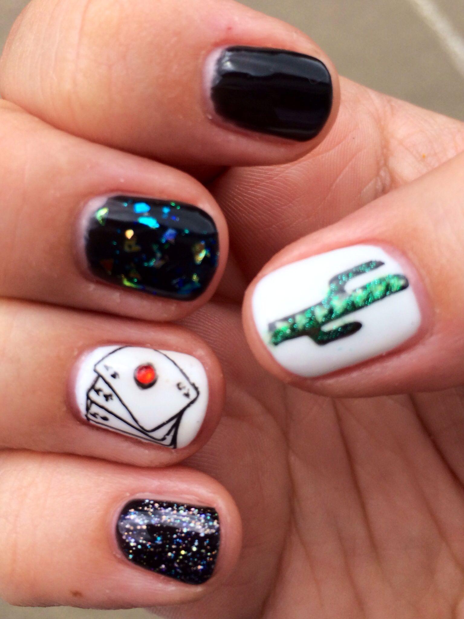 Las Vegas nail art | Nails | Pinterest | Las vegas nails, Vegas ...