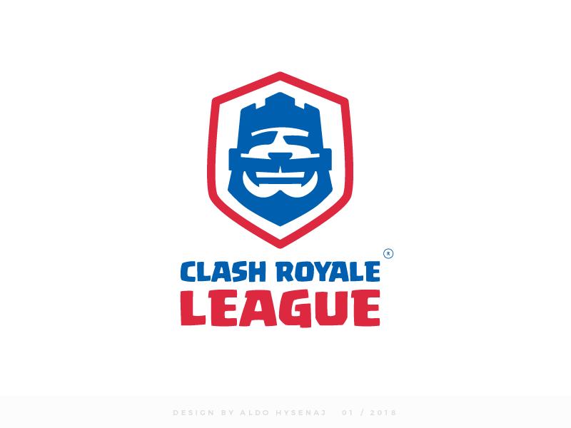 Clash Royale League Logo Final Version Learning Logo Logo Inspiration Clash Royale
