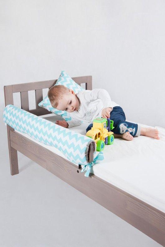 Ochraniacz Do łóżeczkałóżka Ikea Turkus Diy Toddler