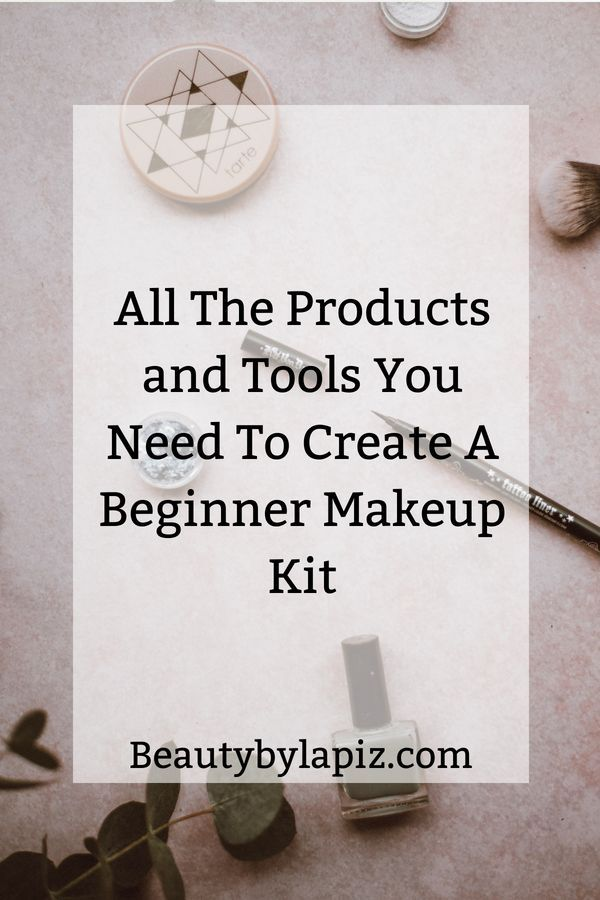 All The Products You Need to Create Your Own Beginner Makeup Kit